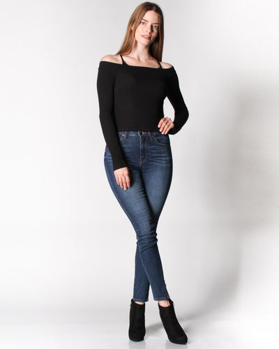 The Bare Maximum Off Shoulder Top Tops