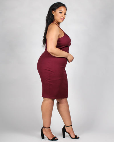 The Be My Lovah Plus Bodycon Dress Dresses