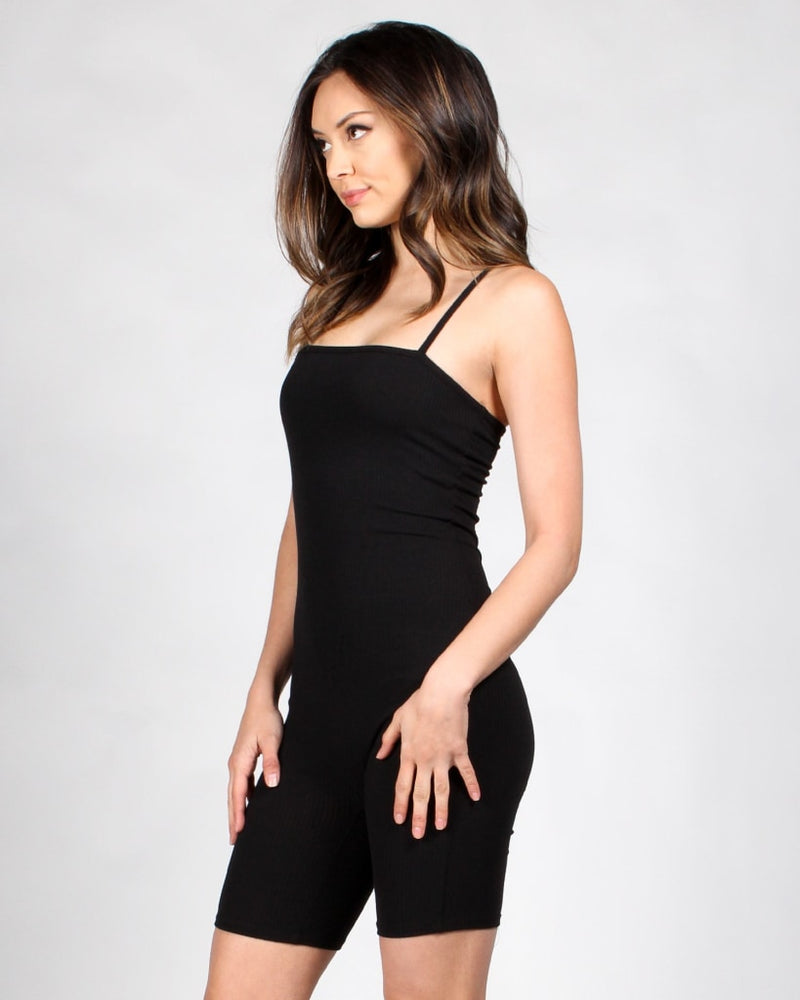 The Catwalk Romper S / Black