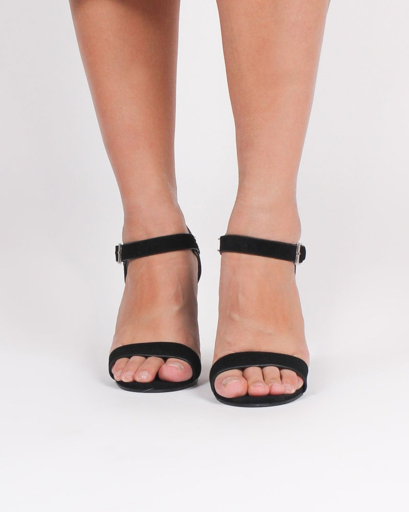 The Chelsea Chunky Heels (Black) 5 / Black Shoes