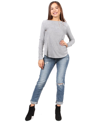 The Classic Chic As Me Long Sleeve Top