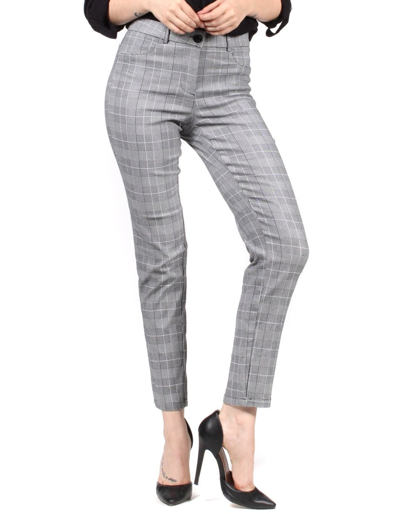 The Doctor Dress Pants S / Gingham Bottoms