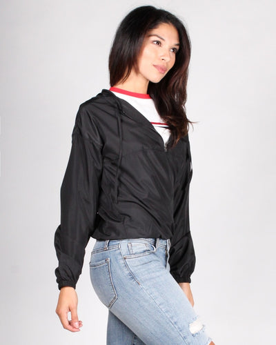 The Good At Being Bad Windbreaker Jacket Tops