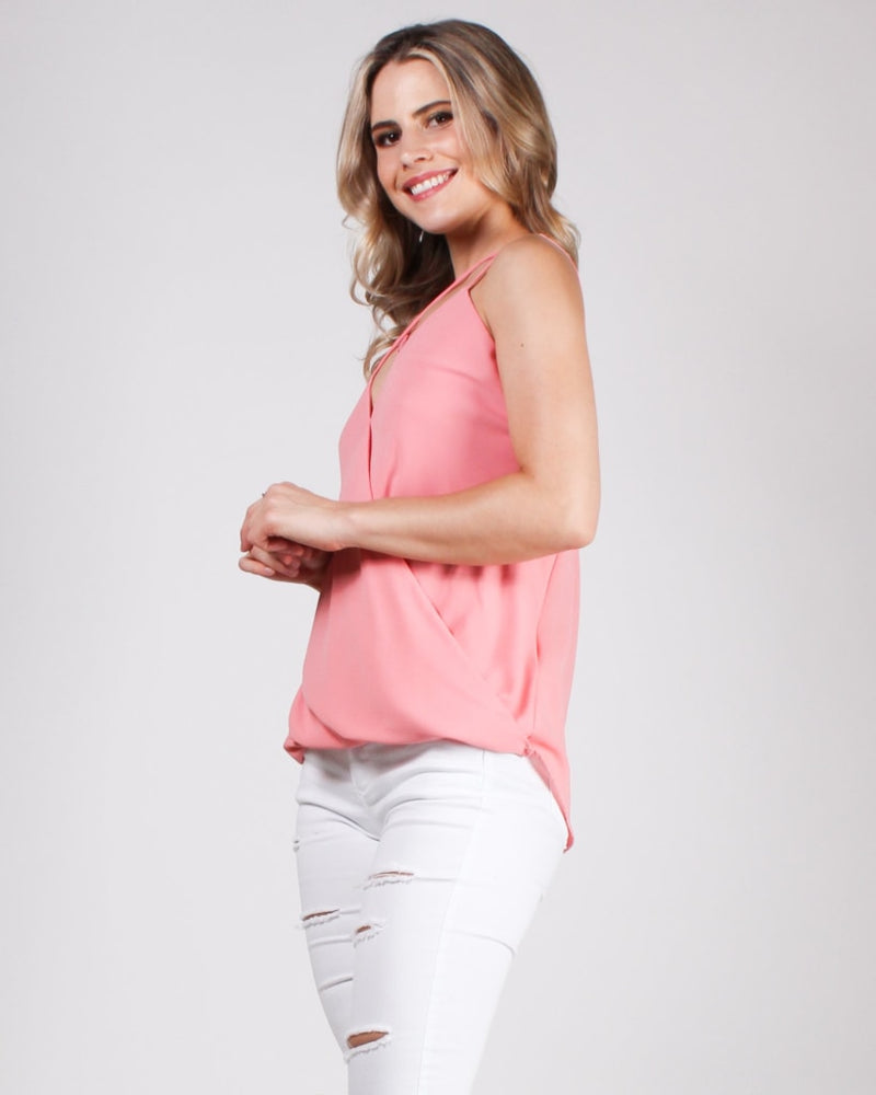 The Good Gets Better Blouse Neon Rose / S Tops
