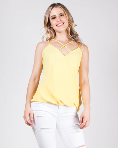 The Good Gets Better Blouse Yellow / S Tops
