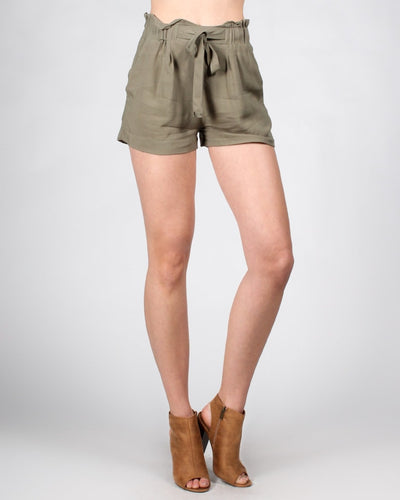 The Goodall Re-Imagined Shorts S / Olive Bottoms