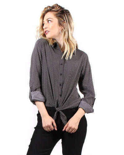 The Greta Button Up
