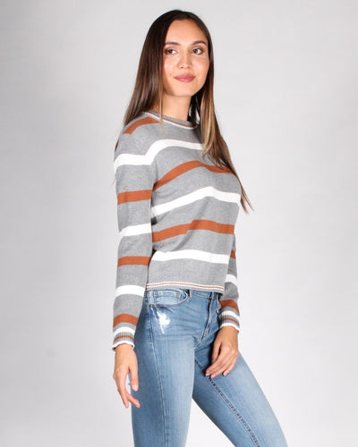 The Happy Ending Striped Sweater