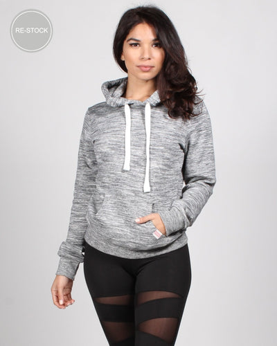 The Heather Hoodie S / Grey Pullover
