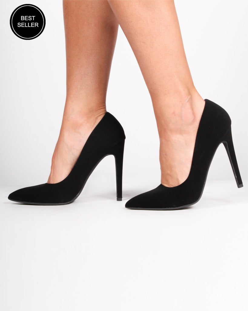 The London Pumps 5 / Black Shoes