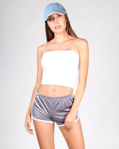 The Make It Happen Crop Top S / White Tops