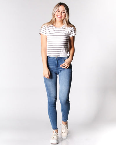 The Never Let You Down Striped Tee