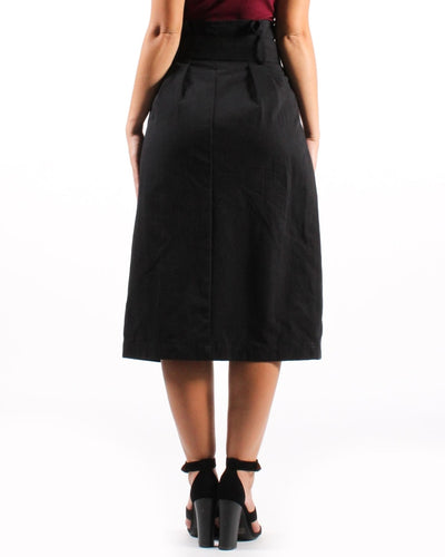 The New Rules Skirt High Waisted Belted Bottoms