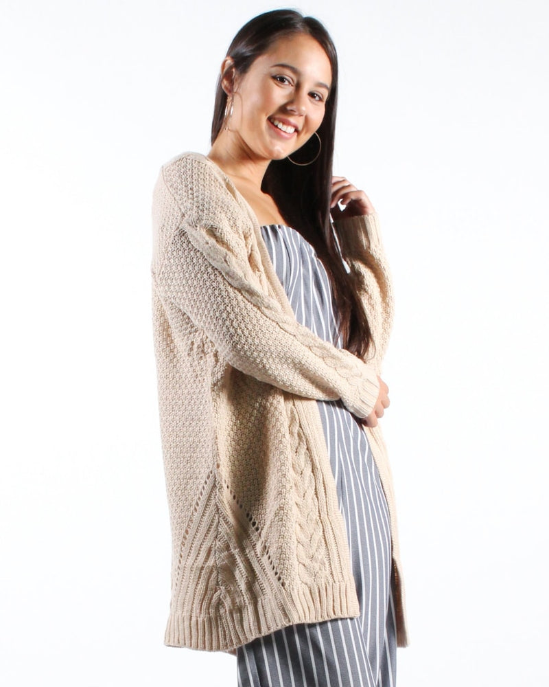 The Not So Complicated Cardigan S/m / Cream