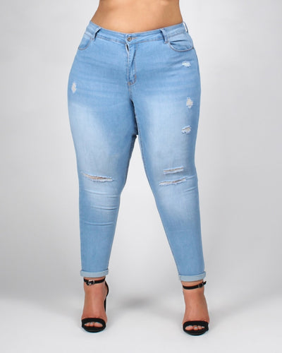The One Plus Jeans 14 / Light Bottoms
