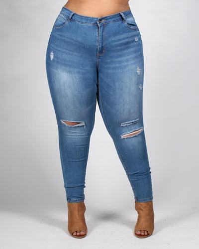 The One Plus Jeans 14 / Medium Bottoms