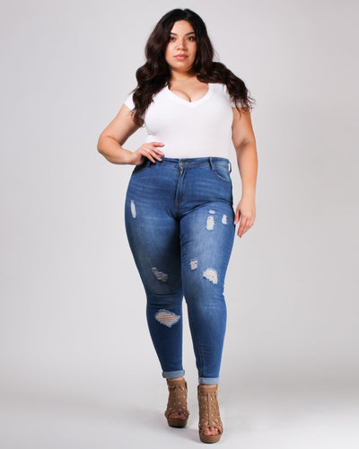 The One Plus Jeans Bottoms