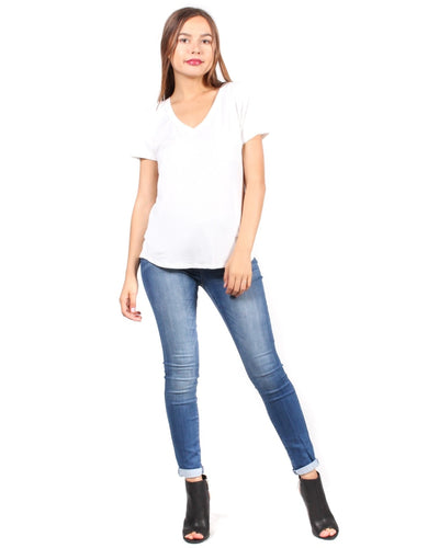 The Q Basics: Complete You Short Sleeve Top