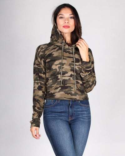 The Rambo-Zilla Hooded Top S / Camo