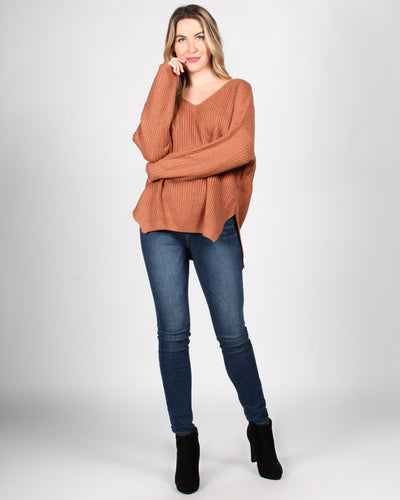 The Skies Are The Limit Knit Sweater Tops