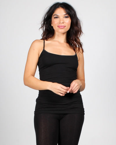 The Slumber Party Tank S / Black