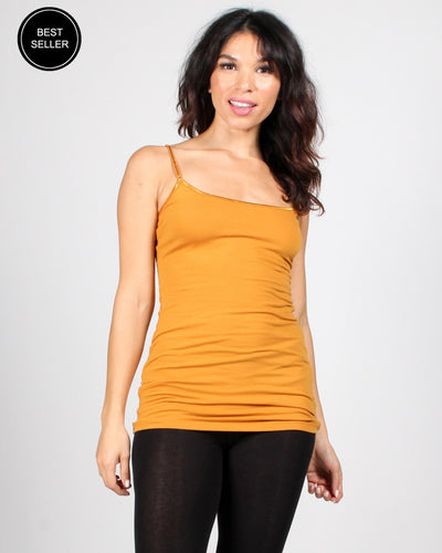 The Slumber Party Tank S / Butterscotch
