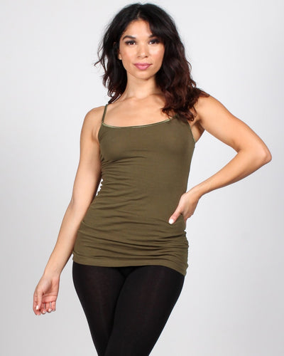 The Slumber Party Tank S / Olive