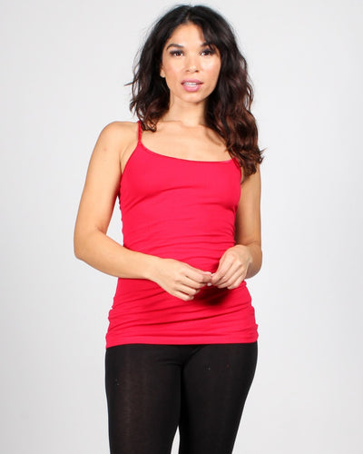 The Slumber Party Tank S / Red