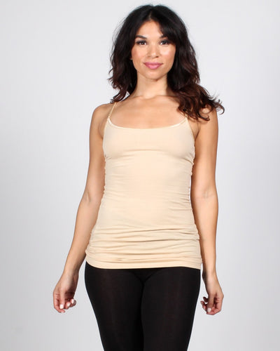 The Slumber Party Tank S / Taupe