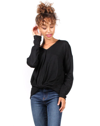 The Twister Revolution Long Sleeve Top S / Black