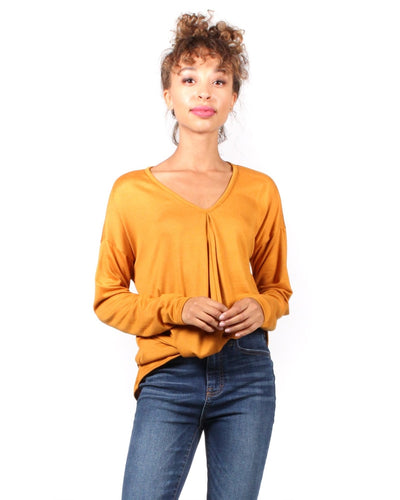 The Twister Revolution Long Sleeve Top S / Mustard