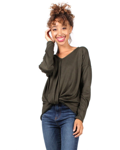 The Twister Revolution Long Sleeve Top S / Olive
