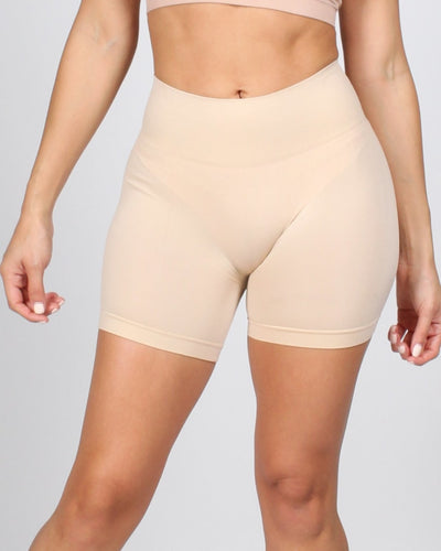The Uplifting Story Shorts One / Taupe Intimates