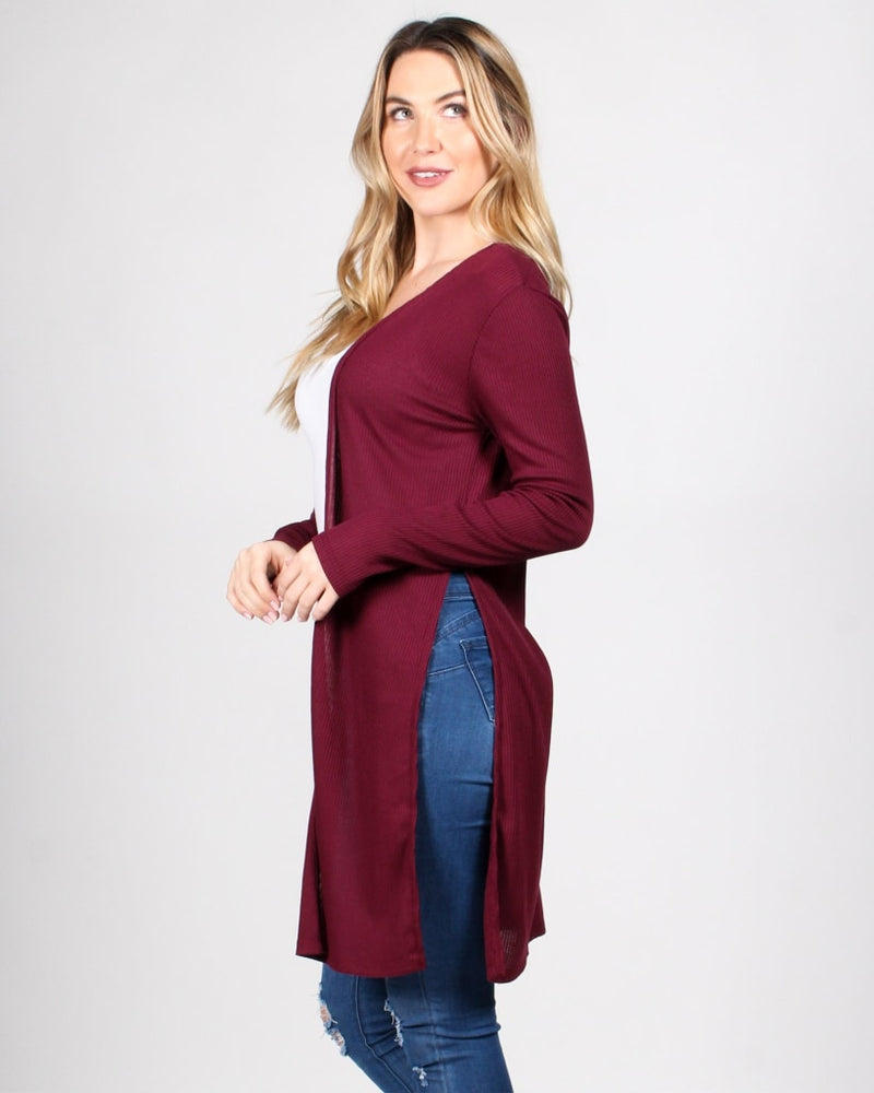 The Verve Of Life Cardigan S / Burgundy Outerwear