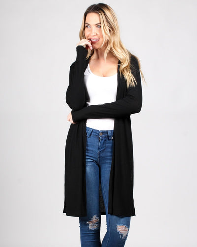 The Verve Of Life Cardigan S / Black Outerwear