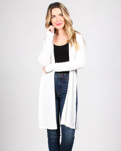 The Verve Of Life Cardigan S / White Outerwear