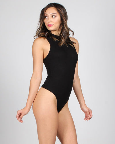 The Voulez Vous Mock Turtleneck Bodysuit
