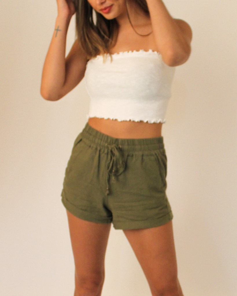 The Willow Shorts S / Olive