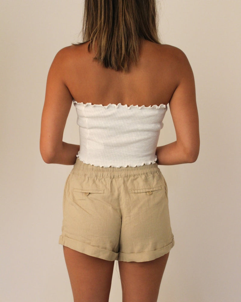 The Willow Shorts S / Taupe