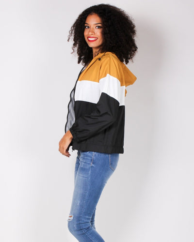 The Windbreaker Beneath My Wings Jacket (Mustard) Outerwear