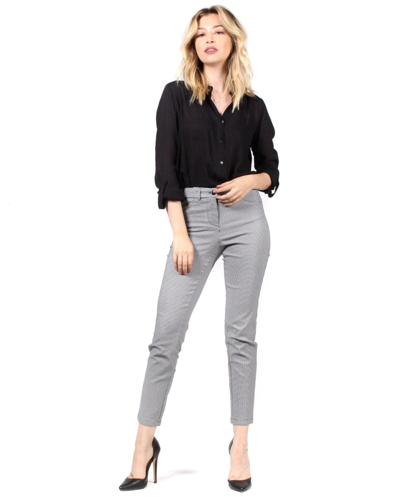 The You Got Houndstooth Dress Pants S / Hounds Tooth