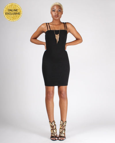 These Are The Days We Live For Bodycon Dress S / Black Dresses
