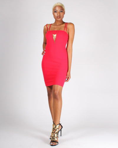 These Are The Days We Live For Bodycon Dress S / Red Dresses