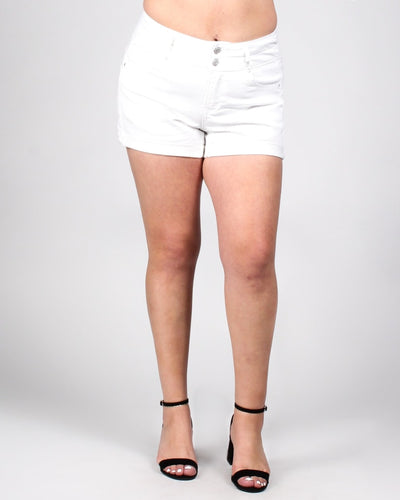 These Shorts Were Made For Walking Plus 1X / White