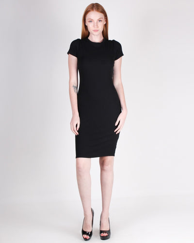 Thrill Seekers Bodycon Dress (Black) Dresses