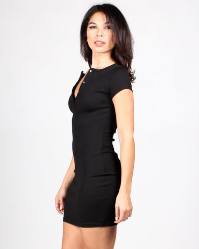 Tipping The Scales Bodycon Dress Dresses
