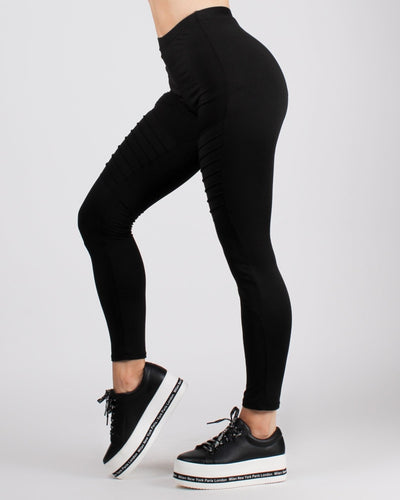 Fashion Q Shop Q Treat Yourself Leggings Black / S Bottoms (Black) AP67724