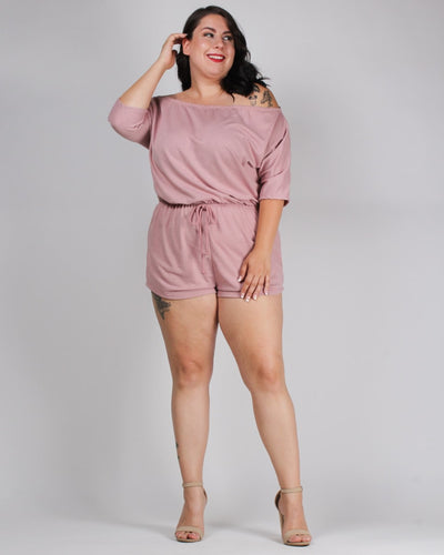 Try Everything Plus Romper