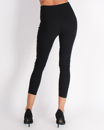 Unstoppable Force Ponte Pants (Black) Bottoms
