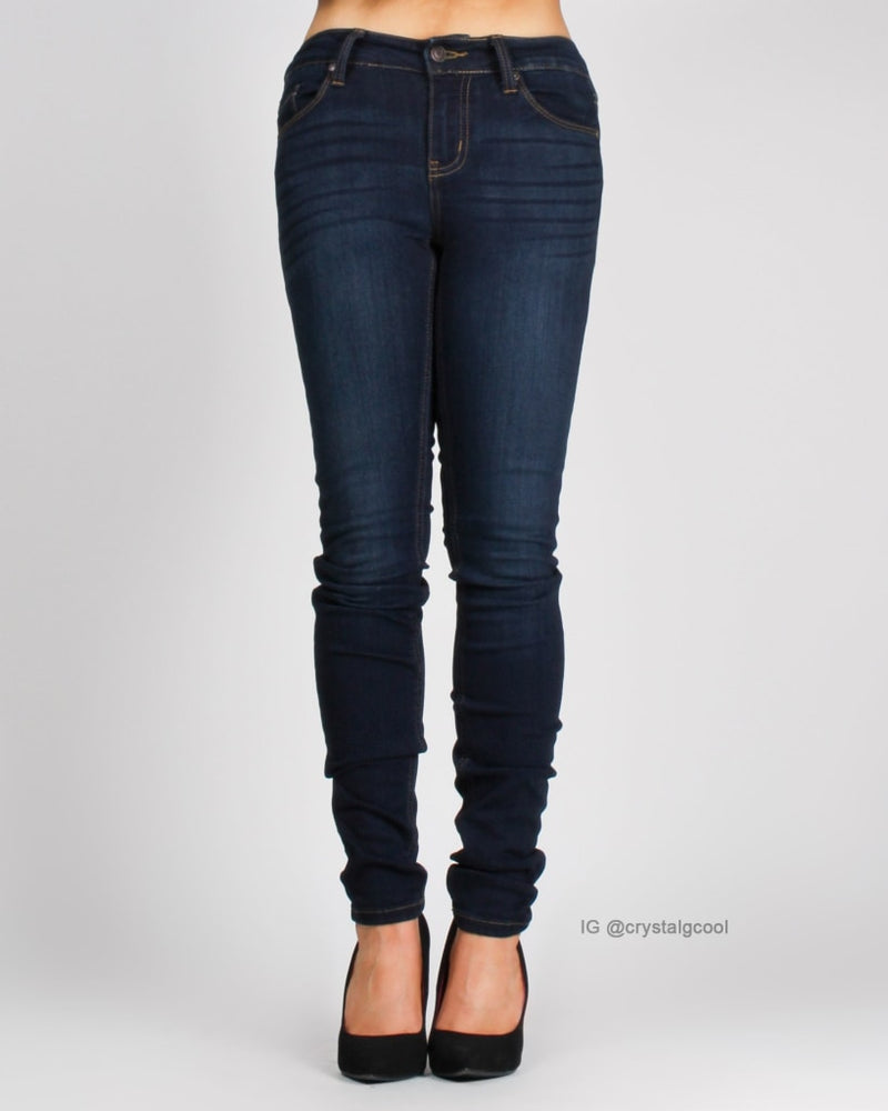 Walking On Sunshine Low Rise Jeans Bottoms